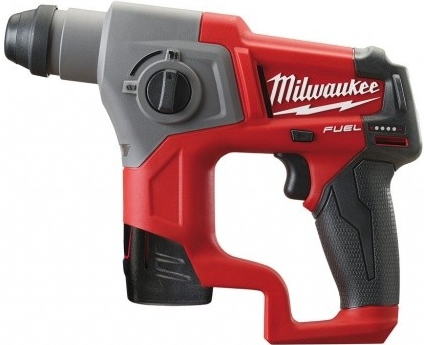 Milwaukee aku kompaktné kladivo M12 CH-202C SDS-plus