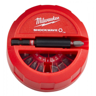 Milwaukee súprava bitov Shockwave (15ks)